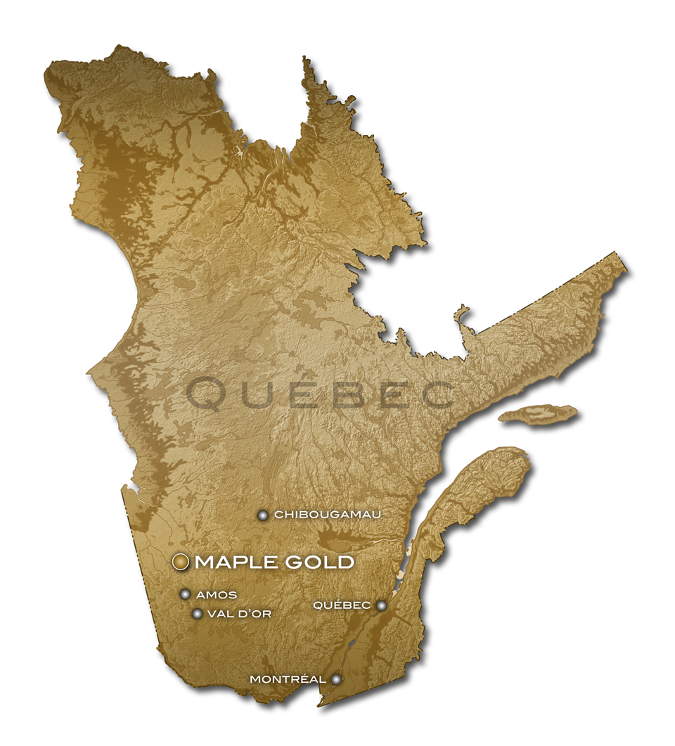 Maple Gold Quebec Overview Map 002