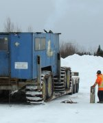 New Drill arriving at the Douay site – March 2018